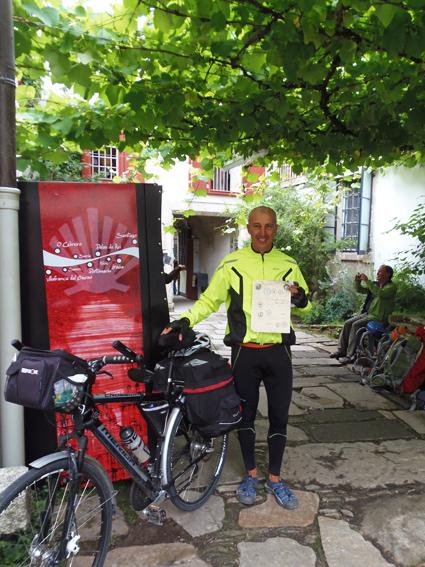Km en bicicleta oficina del peregrino for Oficina del peregrino