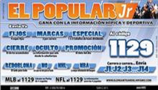 """""""EL POPULAR J.R"""""""