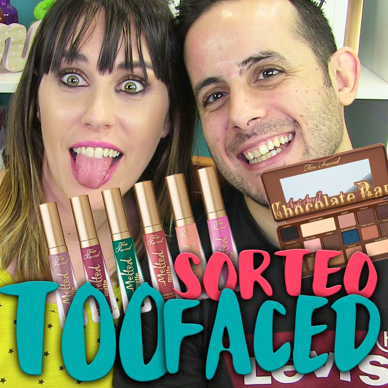Sorteo Internacional Too Faced