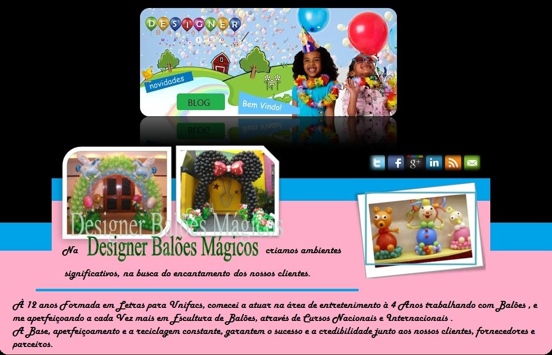 Designer Balões MágicosTel:  (75) 8223-2230 / (75) 3223-1295