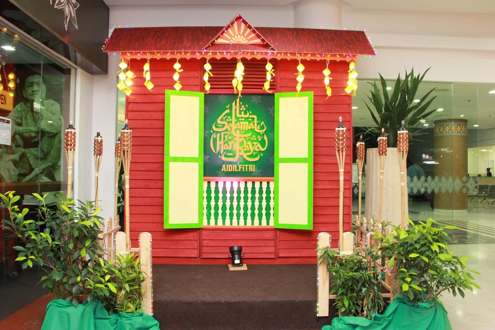 share a tone enterprise hari raya decoration rumah