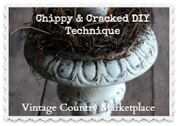 Chippy & Cracked DIY Technique