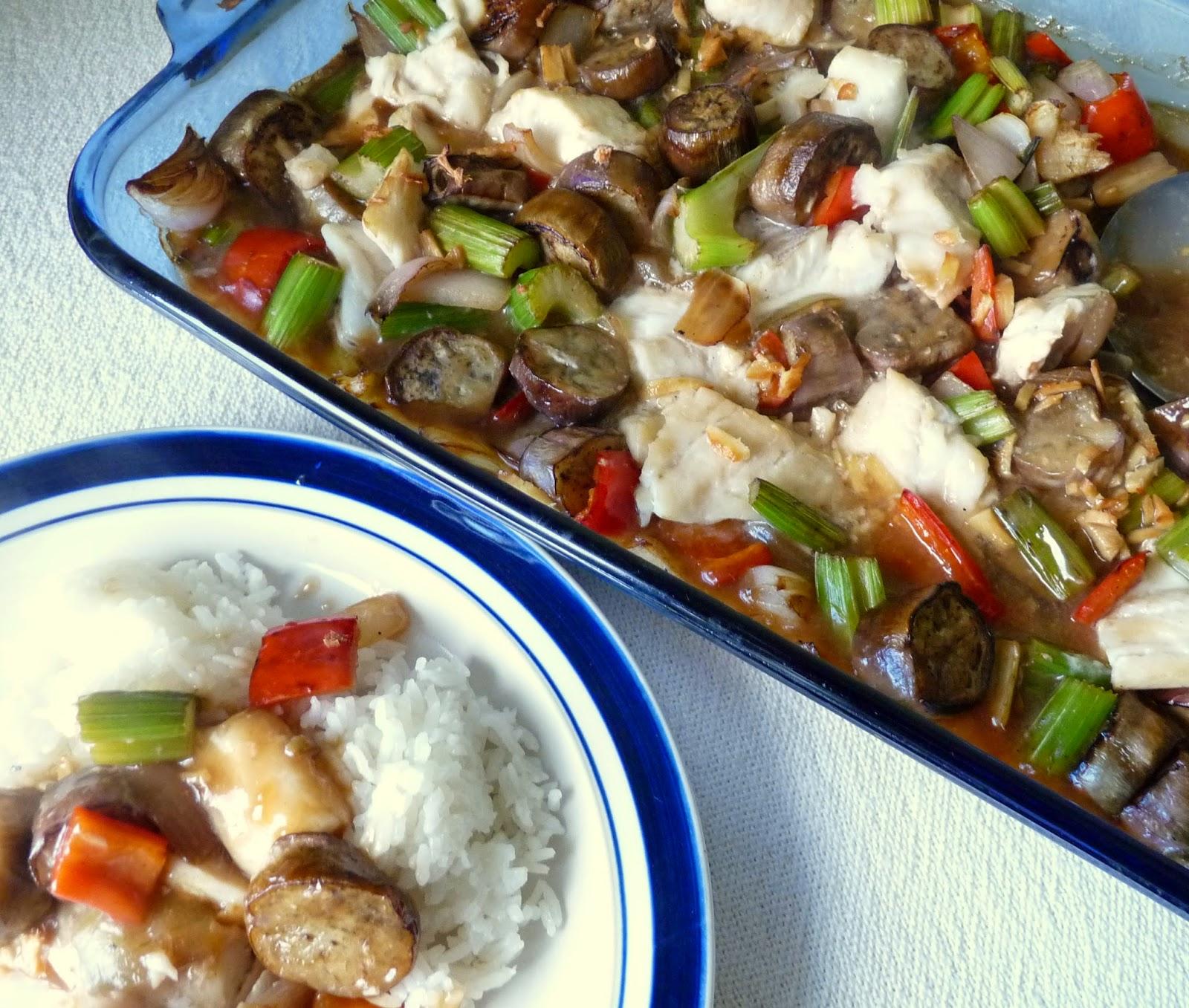 Fish & Eggplant Casserole