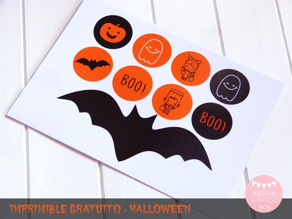 Imprimible halloween gratuito