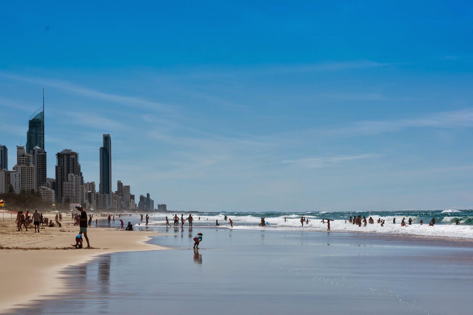 пляжи Австралии отдых на Голд Кост