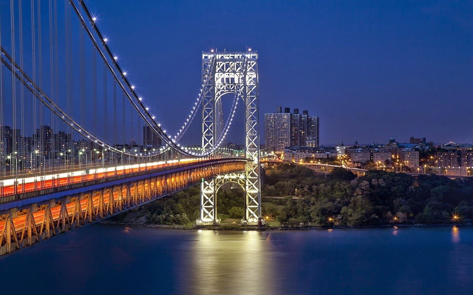 George Washington Bridge em Nova York