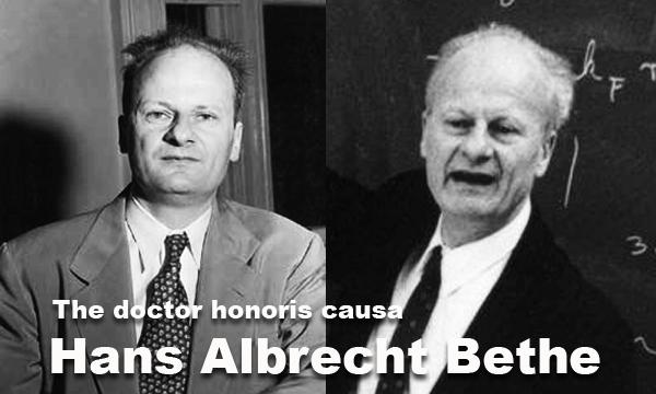 Biografi singkat Hans Albrecht Bethe the Doctor Honoris Causa