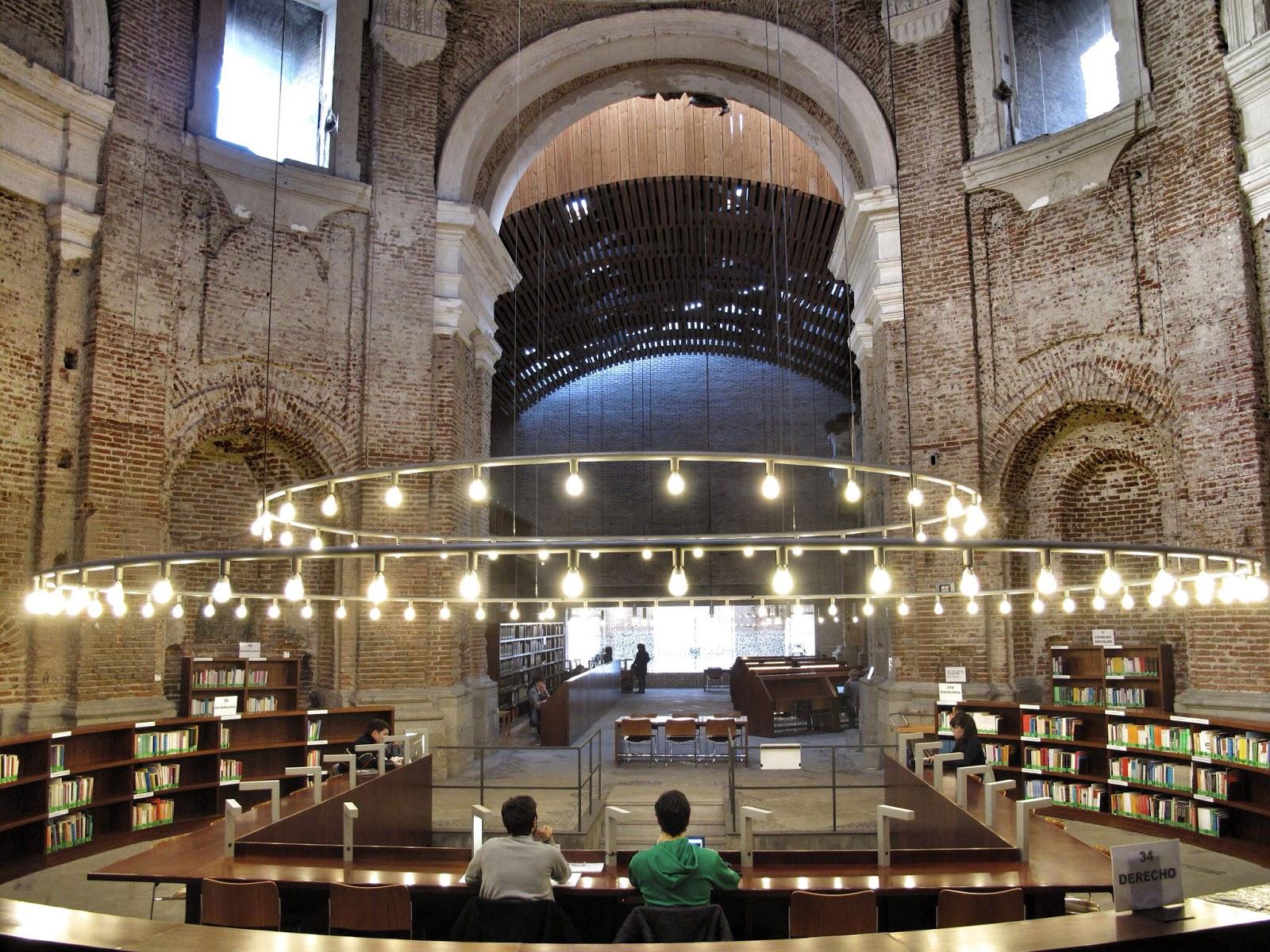 Miradas de madrid curiosidades de madrid 4 el convento for Biblioteca de la uned madrid