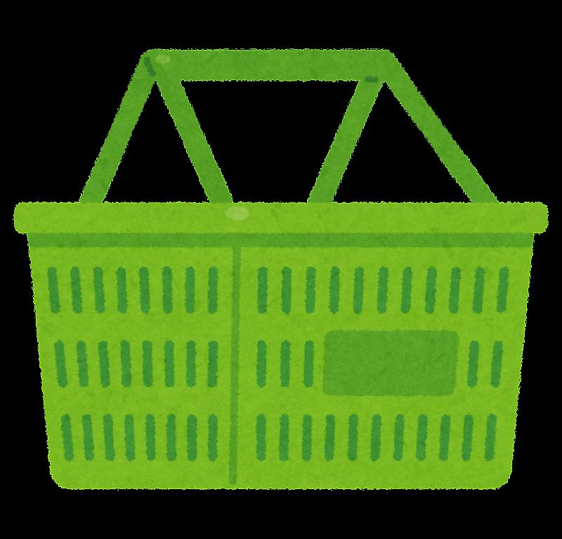 買い物カゴのイラスト(中身 ... : お買い物 おもちゃ : すべての講義