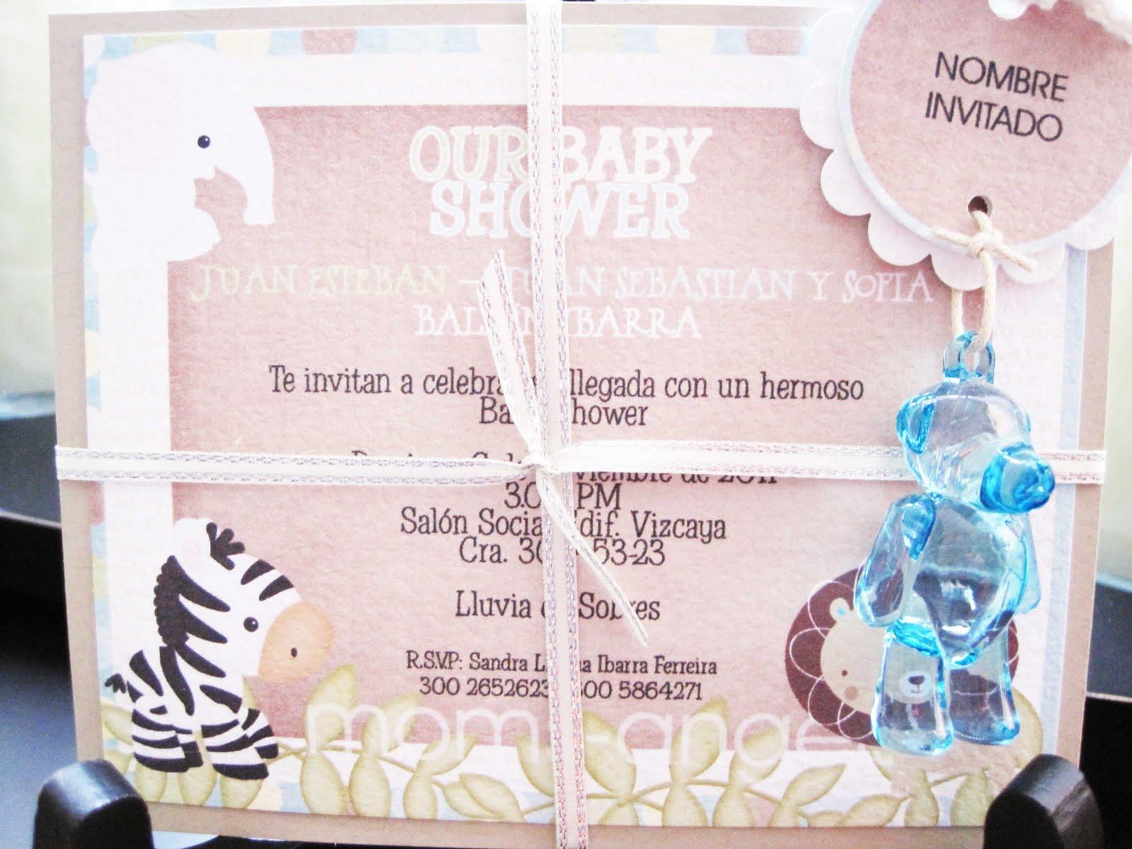 Temas Para Baby Shower De Nino