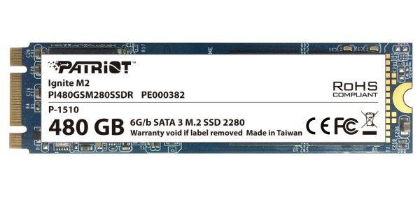 Patriot Ignite 480GB M.2 SSD