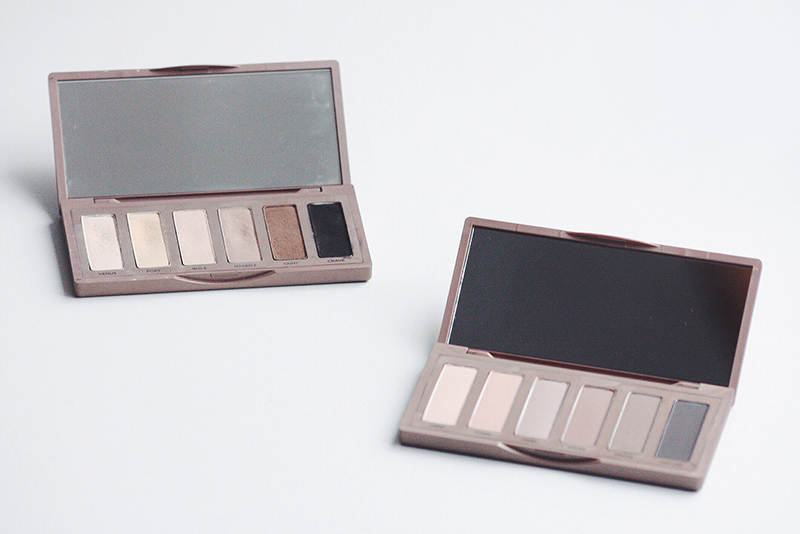 urban decay naked basics and naked basic 2 palette