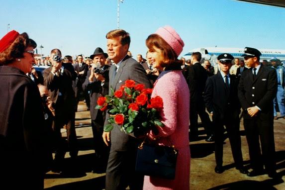 JFK aterriza en Dallas