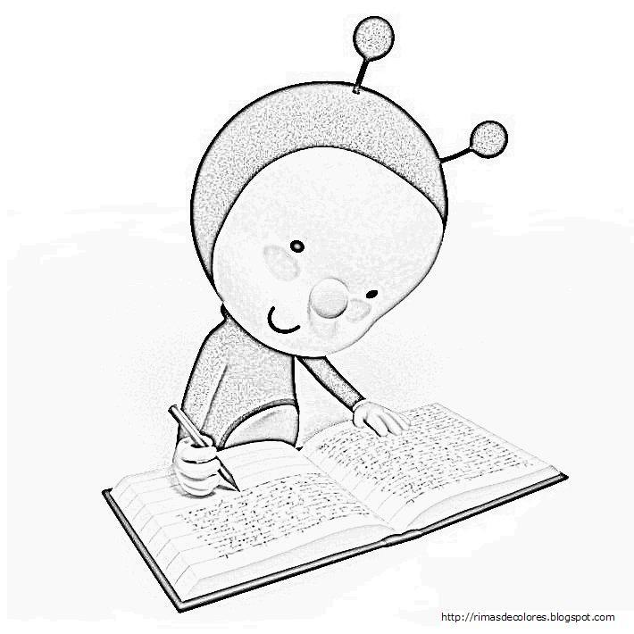 Blog de los niños: Pupi para colorear