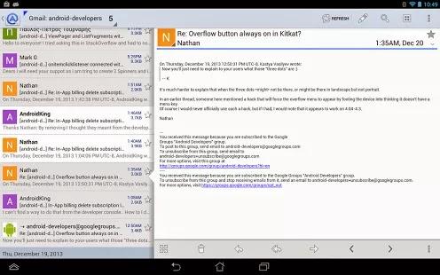 Aqua Mail Pro – email app apk