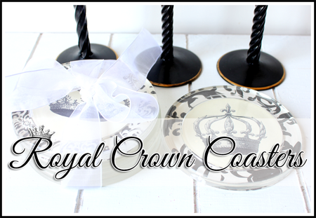 How to Make Crown Coasters Ikea Hack Tutorial Project