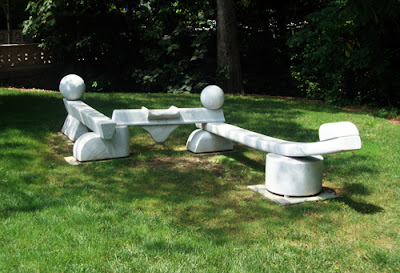 Emory Bench Sculpture
