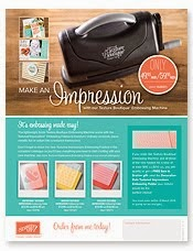 NEW! Texture Boutique Embossing Machine
