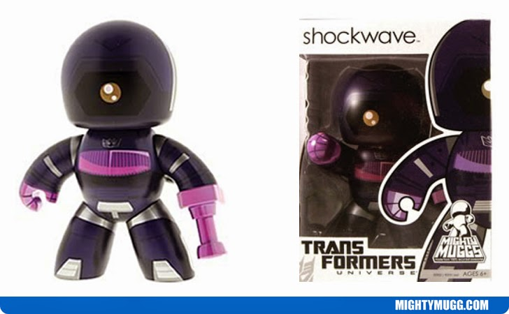 Shockwave Transformers Mighty Muggs Wave 3