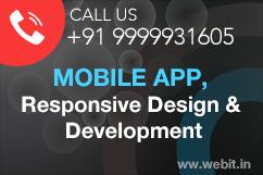 Mobile App, Responsive Design & Development