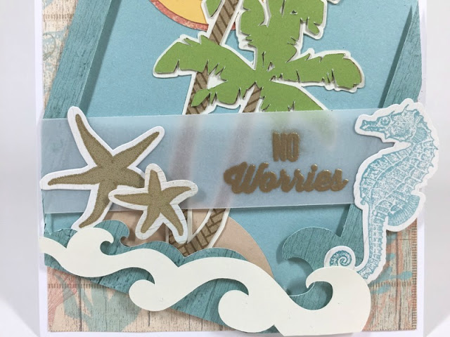 Cricut No Worries card