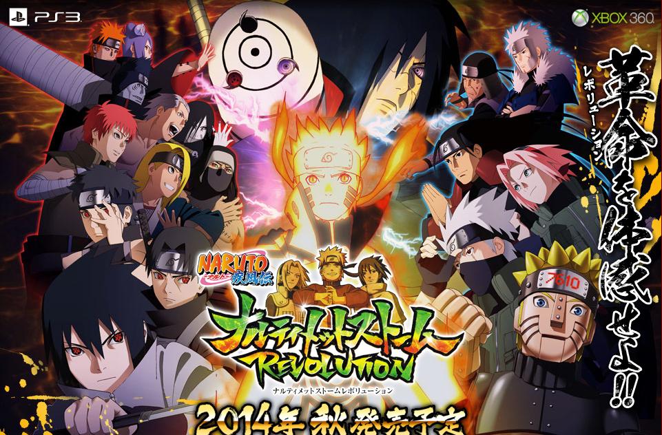 Naruto Shippuden - Ultimate Ninja Storm Revolution