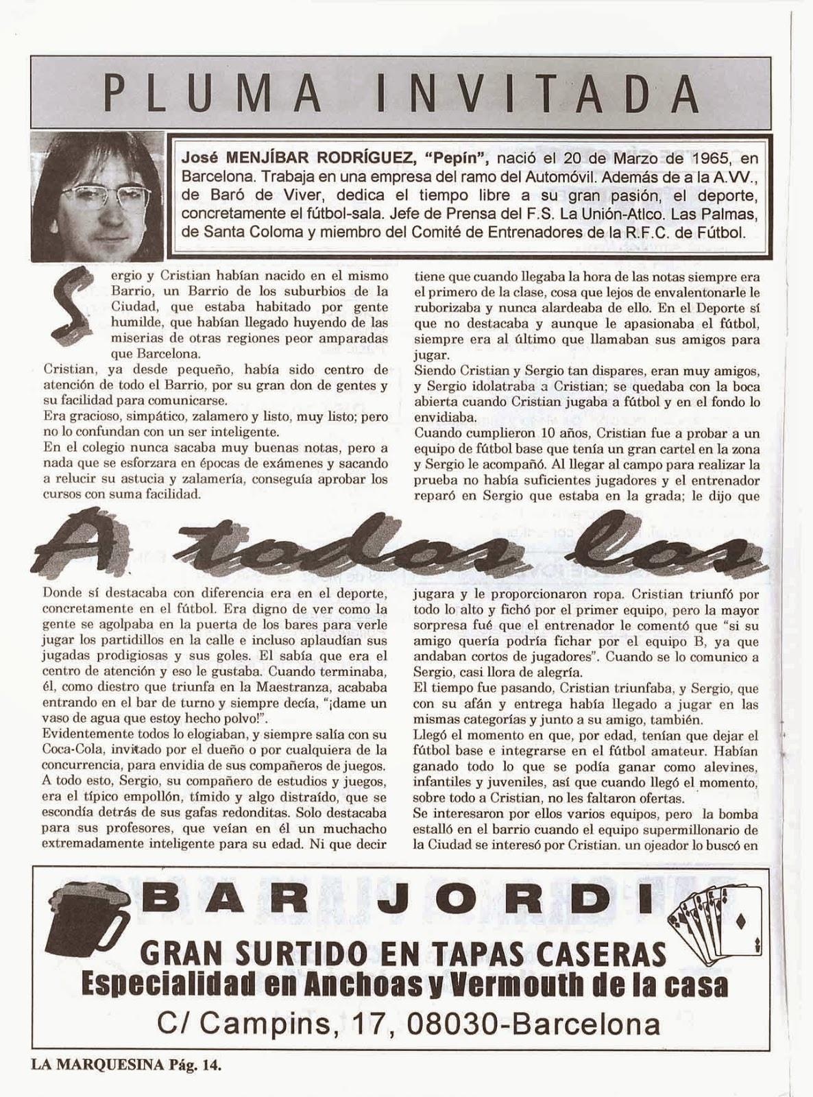 REVISTA DEL BARRIO BARÓ DE VIVER - BARCELONA