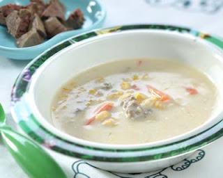 Sup Jagung Hati Ayam buat si kecil
