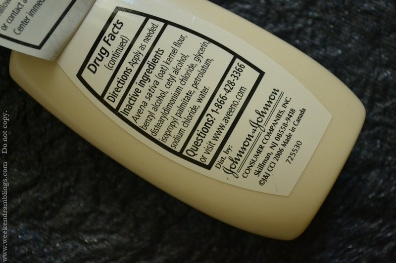 skincare makeup beauty blog aveeno daily moisturizing lotion active naturals reviews ingredients