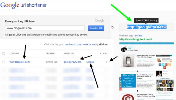 How to Create Short URLs Using Google URL Shortener