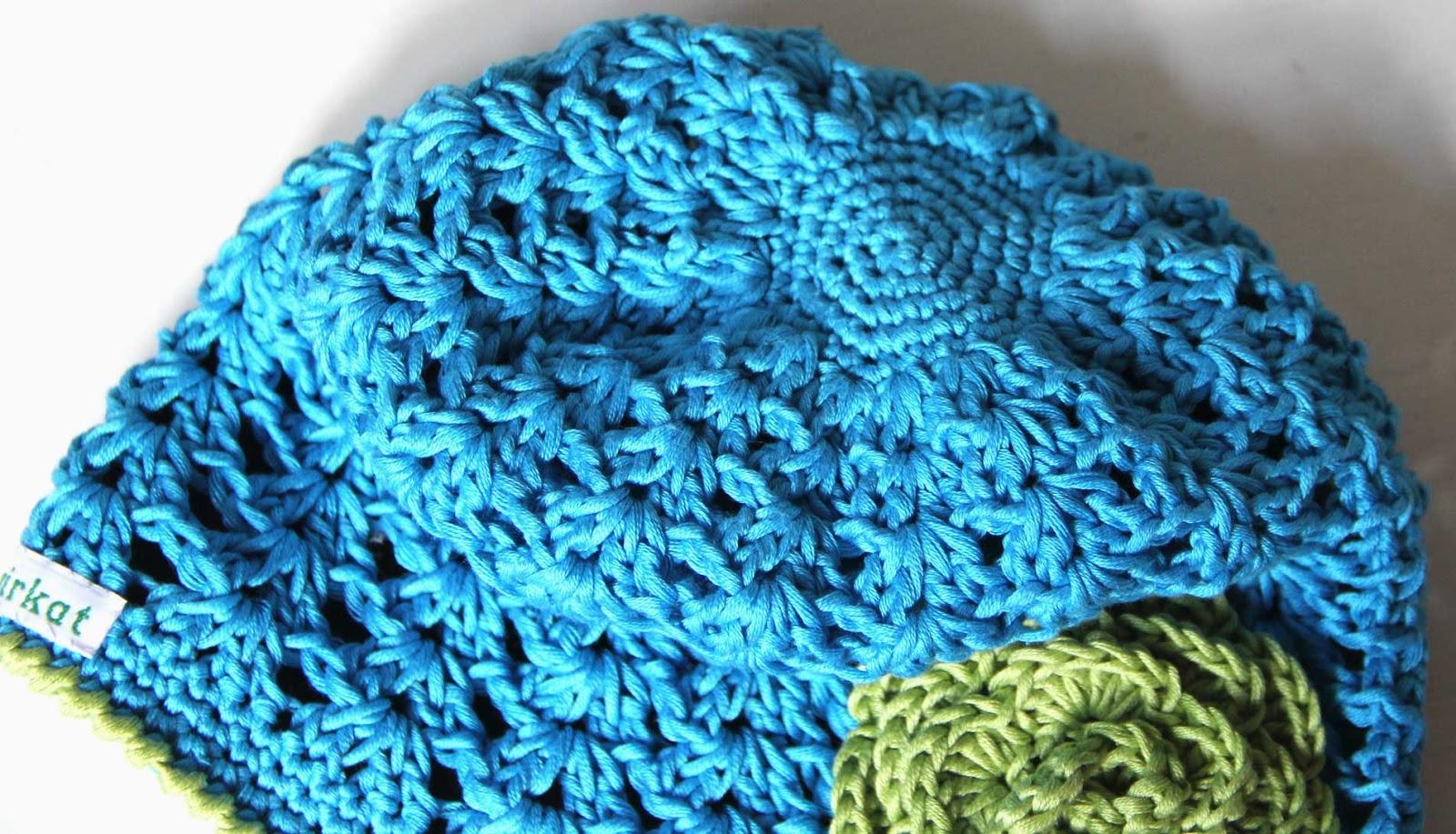 crochet hat baby shell stitch beanie free patern