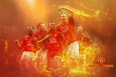 Английский футбол. Манчестер Юнайтед фото.