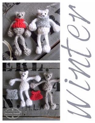 Crochet winterbear Helena Haakt