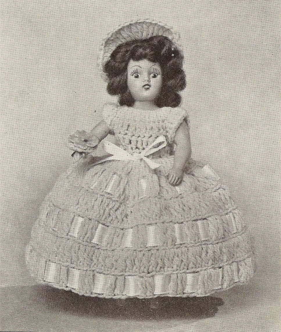 Free Knitting Pattern Dolls Underwear : Vintage Knit Crochet Shop Talk: Vintage Crochet Doll Dress ...