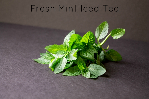 Fresh Garden Mint Iced Tea | Foodie in WV