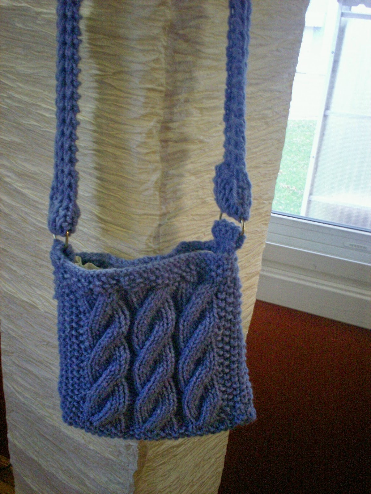 Knitting patterns for the beginner or the advanced knitter heathers cabled purse bankloansurffo Gallery