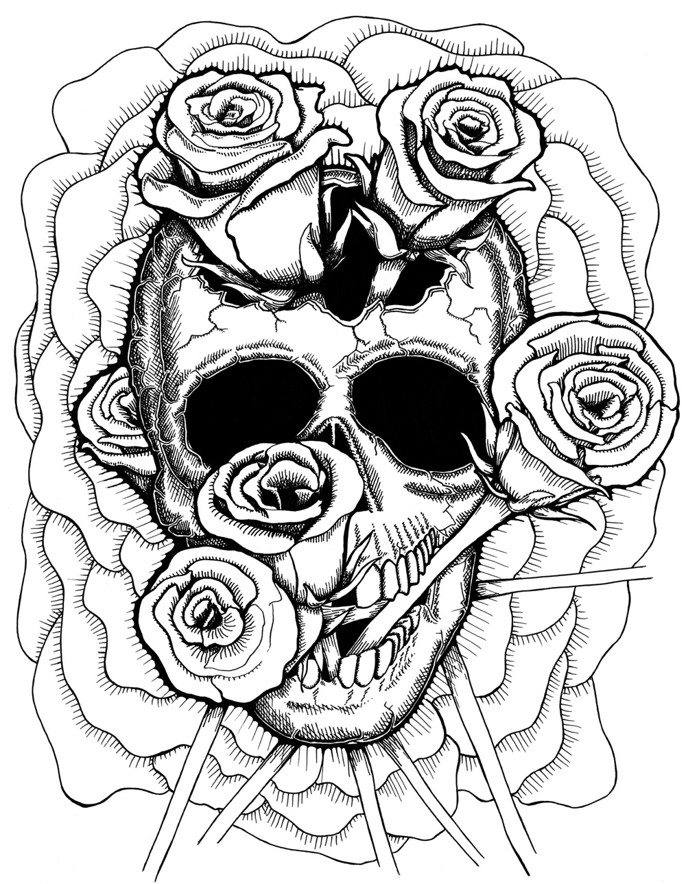 Trippy weed coloring pages the image for Printable stoner coloring pages