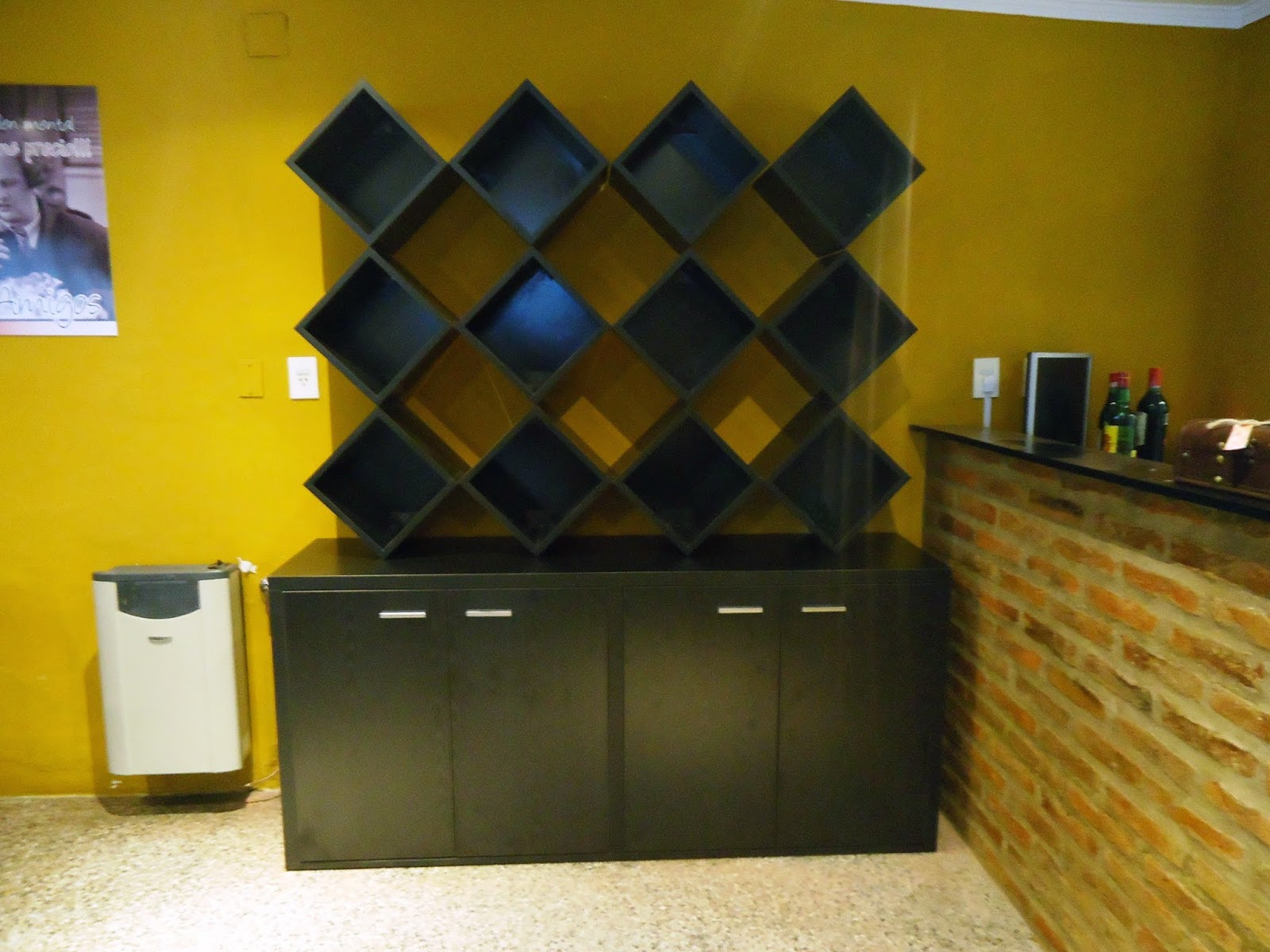 El detalle muebles dise ados a medida mueble para for Muebles para vinotecas