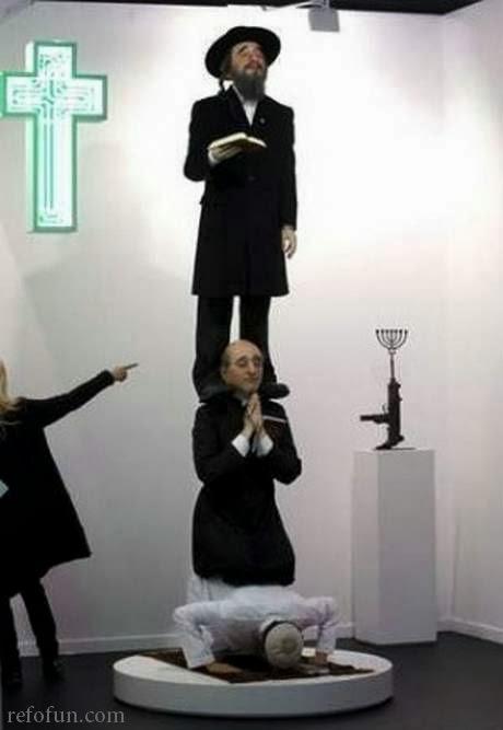 ما قصة الصورة التى اغضبت جميع الأديان ؟