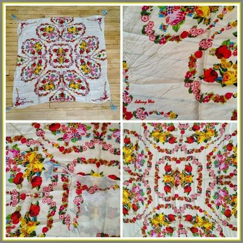 Sala Cream Silk Scarf by Johnny Was ($88)