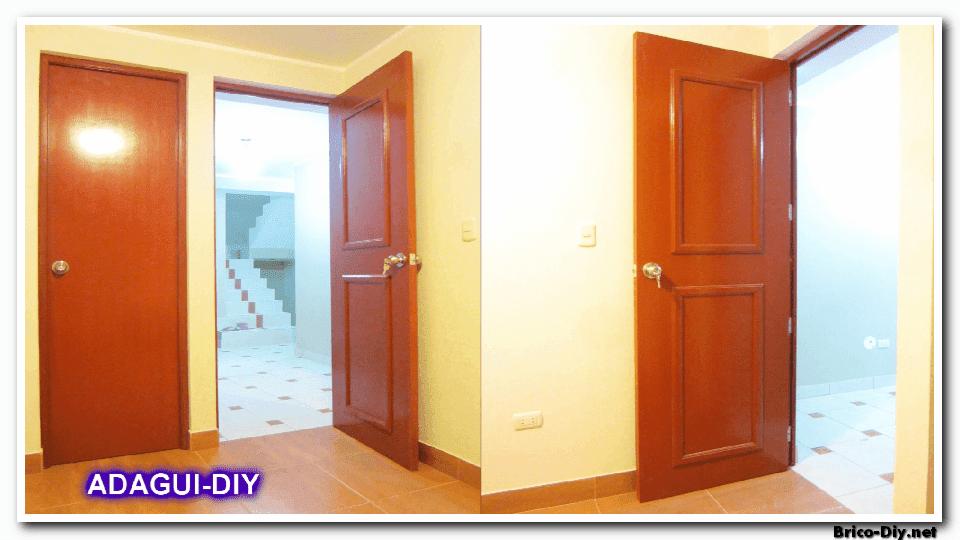 V deo como hacer una puerta contraplacada de triplay web for Puertas de dormitorio modernas