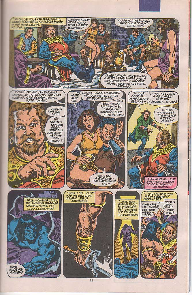 Conan the Barbarian (1970) Issue #250 #262 - English 10