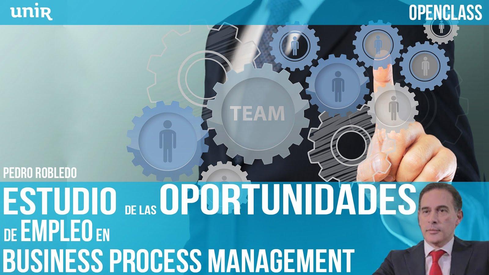 25 Enero: Openclass Online: Estudio de las Oportunidades de Empleo en BPM