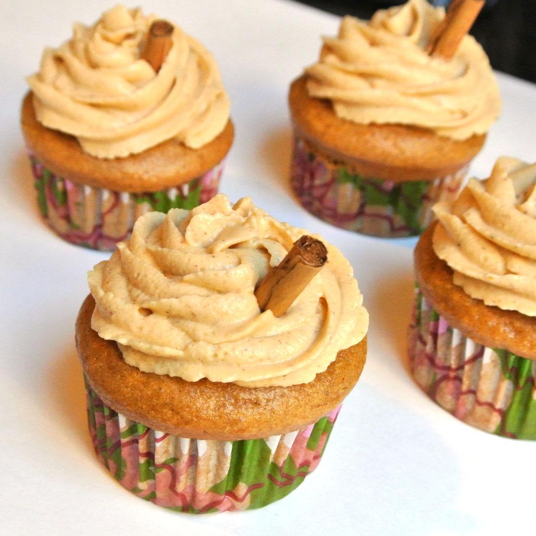 Gluten-Free Pumpkin Spice Cupcakes