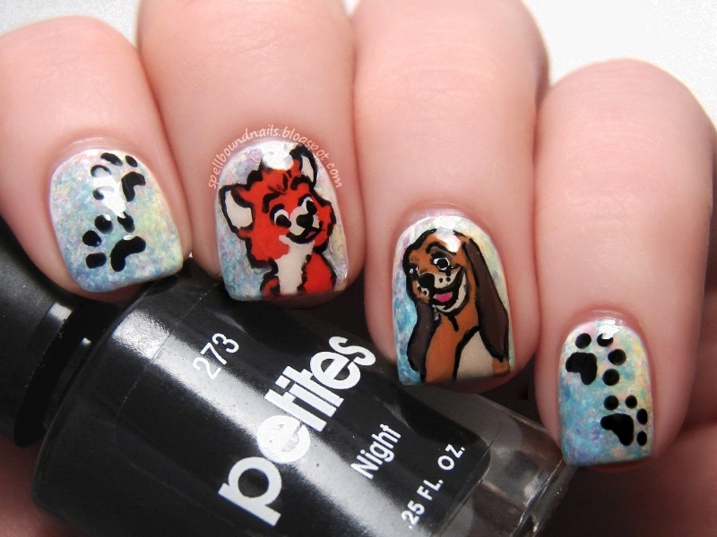 Nail Art: Disney Challenge: The Fox and The Hound