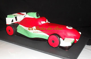 Cars Cake Bolo Francesco Bernoulli Cars McQueen