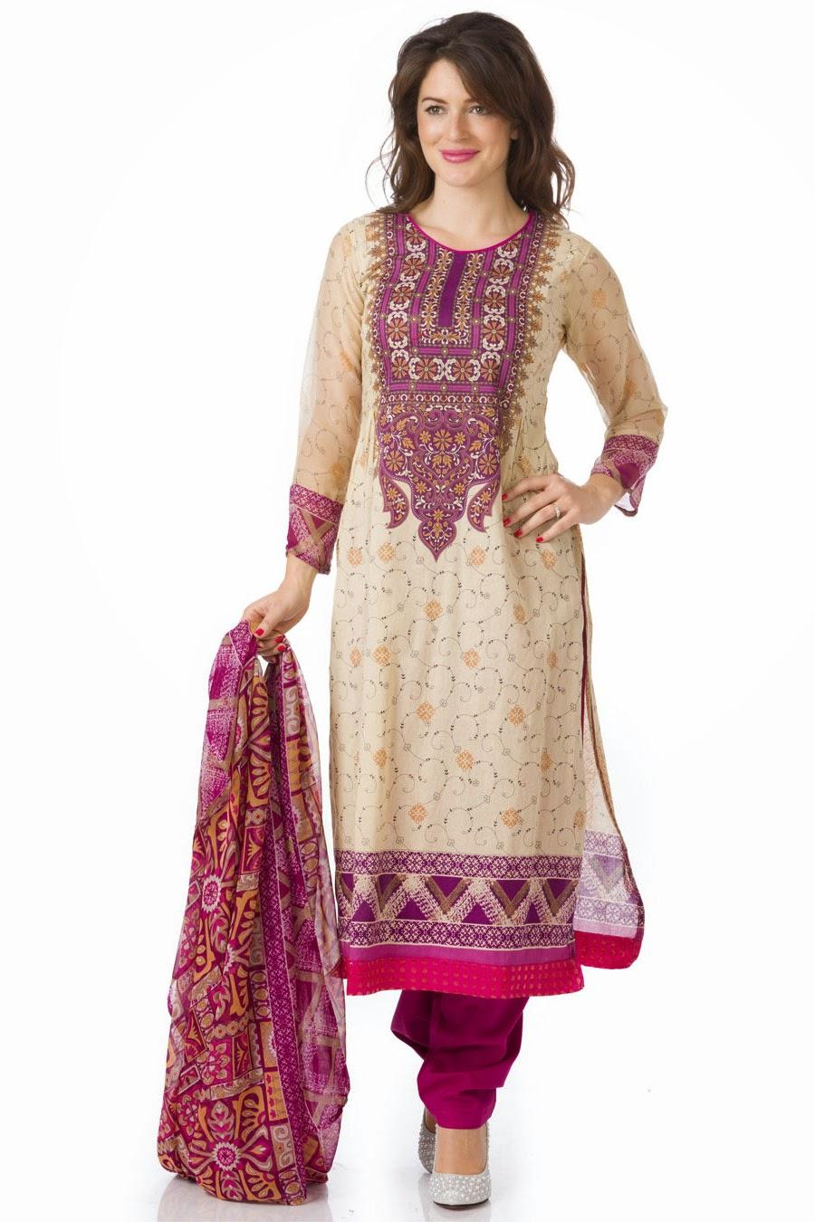 Elegant and Simple Salwar Kameez Designs