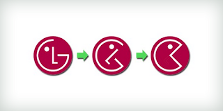 Logo LG ilusion optica
