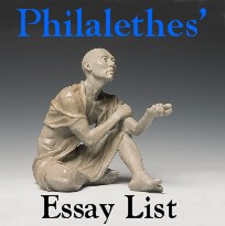Philalethes' Essay List