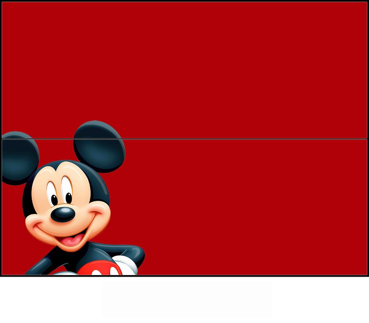 Mickey Y Minnie Etiquetas Para Golosinas Para Imprimir